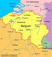 Waterloo Belgium Map