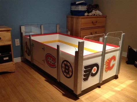 bubble boy hockey table for sale custom hockey bed kids hockey bed custom ice rink