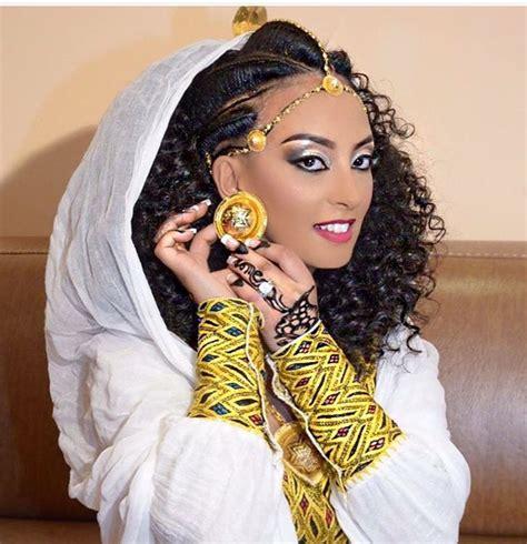 Wedding Hairstyle Ethiopian