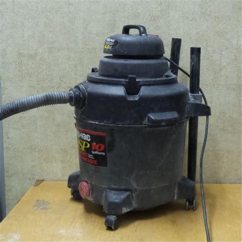 shop vac qsp  gallon  peak hp wet dry vacuum