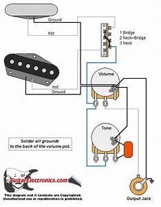 Tele Style Guitar Wiring Diagram