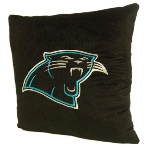 carolina panthers pillow carolina panthers nfl 16 quot embroidered plush pillow with