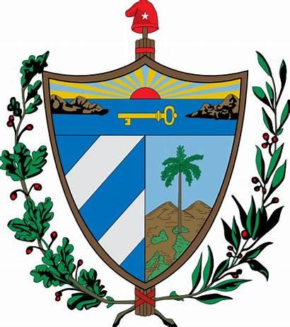 Cuba Escudo Cuban Arms Coat Vector Clipart