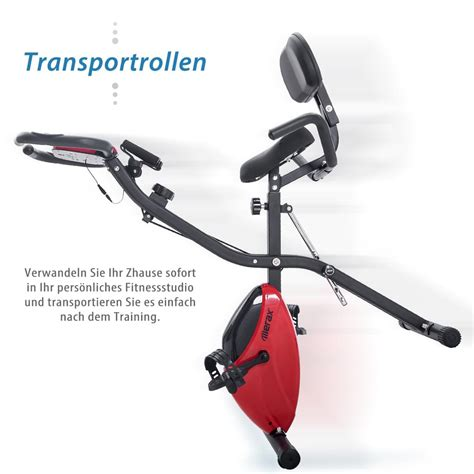 Merax Heimtrainer 3-in-1 X-bike mit | real.de