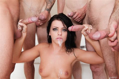 Adriana Chechik Does First Ever Triple Anal Scene 2 Of 2