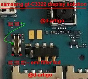 Samsung C3322 Display Light Solution Lcd Jumper Problem