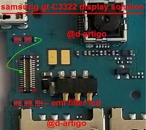 Samsung C3322 Display Light Solution Lcd Jumper Problem