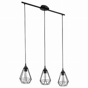 Suspension Style Industriel : lustre et suspension au meilleur prix leroy merlin ~ Teatrodelosmanantiales.com Idées de Décoration