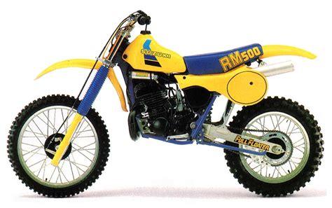 Suzuki Rm 500 by Suzuki Rm500 Model History