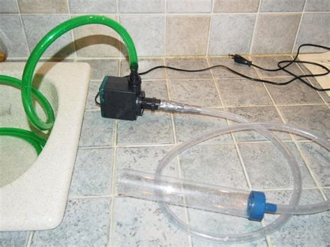 pompe pour vider aquarium pompe newjet 1200 pour vider puis remplir les aquarium