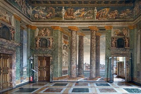 filele salon des perspectives villa farnesina rome