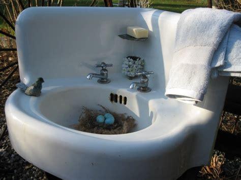 Farmhouse Cast Iron & Porcelain Corner Sink 's By