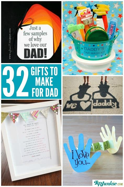 Check spelling or type a new query. 32 Best Homemade Fathers Day Gifts - Tip Junkie