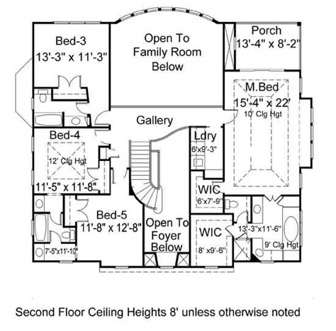 villa house plans villa royale 7164 5 bedrooms and 4 5 baths the house
