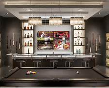 6 Sports Bar Interior Design Contemporary Home Bar Design Ideas Remodels Photos