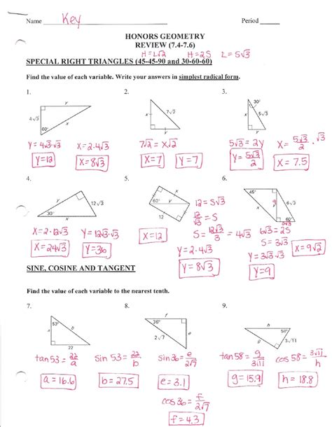 Honors Geometry Chapter 2 Test