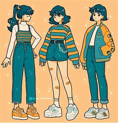 Outfits Drawing Anime Casual Clothes Drawings Bobatae