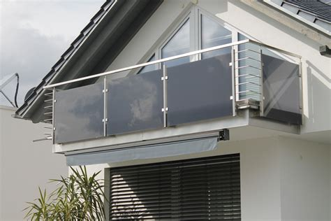 balkone und gelaender aus stahl und edelstahl im raum ulm