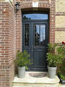 porte fenetre double vitrage bois obasinccom With porte d entrée pvc avec fenetre bois double vitrage