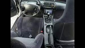 1992 Honda Prelude Interior Detail