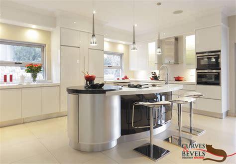Modern Contemporary Kitchen 1  Curves & Bevels Designer