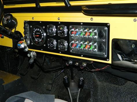 wire  gauges  dash switch panel project