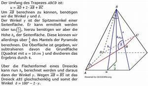 Trapez Berechnen Online : quadratische pyramiden ab 2014 realschulabschluss wahlteilaufgaben ~ Themetempest.com Abrechnung