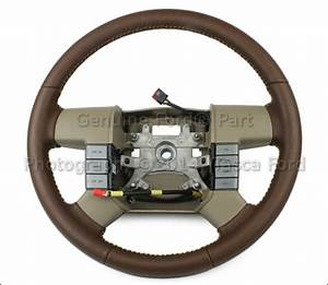 New Genuine Factory Oem King Ranch Tan Leather Steering