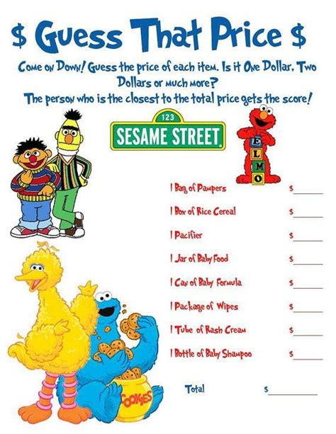 62 Best Images About Boys Sesame Street Baby Shower On