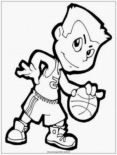 Gambar Basketball Clipart Bola Kartun Basket Olahraga