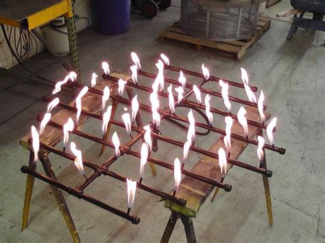 Make your own propane fire pit burner. Custom Fire Pit Burners