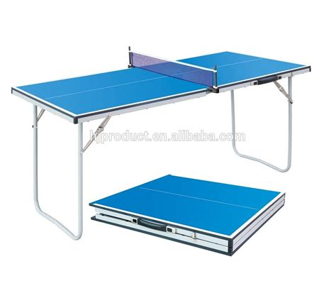 compact ping pong table small size folding table tennis table portable mini ping
