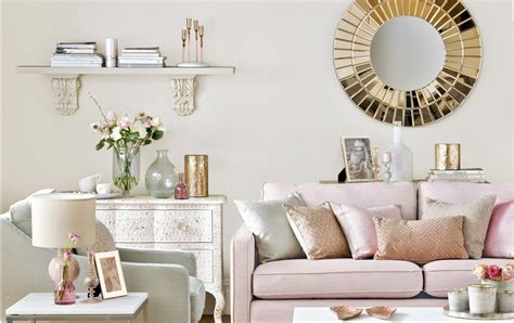 Using Gold Accents In Interior Design by Go Neutral With Gold And Pink Accents