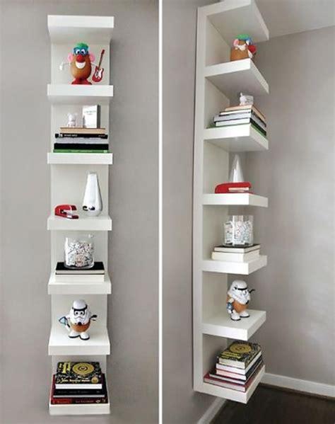 modern ikea floating bookshelves design ikea lack