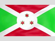 Flag Of Burundi Royaltyfree video and stock footage