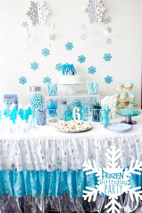 Frozen Birthday Party  Capturing Joy With Kristen Duke