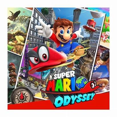 Mario Odyssey Super Nintendo Amiibo Switch Multiplayer