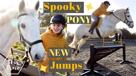New Show Jumps and a Spooky Pony!   AD   This Esme - YouTube