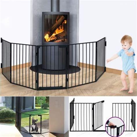 barrière de sécurité pare feu cheminée et grille de