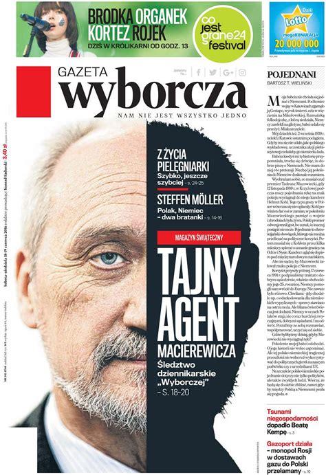 'Gazeta Wyborcza' nagrodzona w dwóch kategoriach European ...