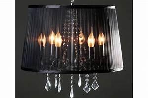 Lustre Moderne Pas Cher : lustre baroque cosy noir lustres suspensions pas cher ~ Dailycaller-alerts.com Idées de Décoration