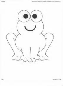 Printable Frog Clip Art