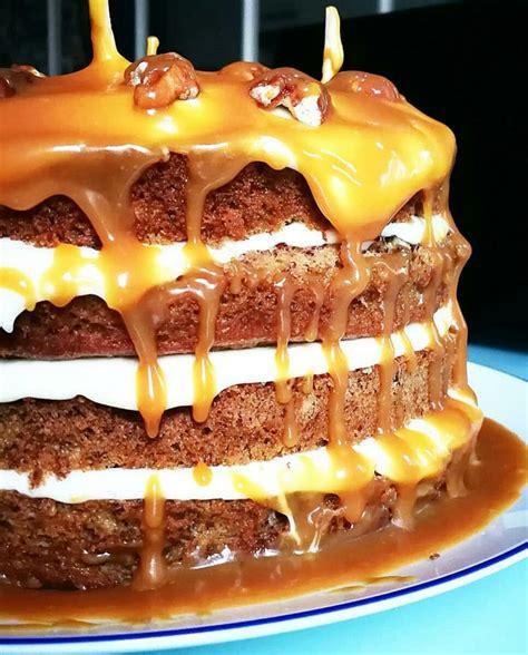 banana layer cake caramel beurre sale gratinez