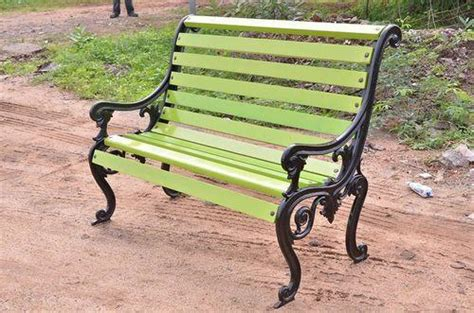 Iron Park Benches by United Green Cast Iron Park Benches United Sports