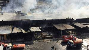 9 buildings damaged as huge fire enguls cafes in Bishkek ...