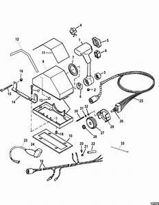 Quicksilver 3000 Throttle Control Parts