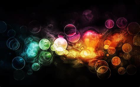 fond decran bulles colorees wallpaper