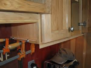 Base Cabinet Filler Strip by Installing Molding For Under Cabinet Lighting A Concord