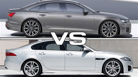 2019 Audi A6 Vs 2018 Jaguar Xf Youtube