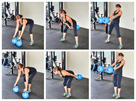 swing kettlebell double legs outside bells kb variations exercise between redefining strength glute both